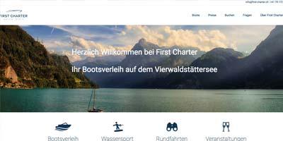 First Charter Bootsverleih