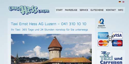 Taxi Ernst Hess AG Luzern