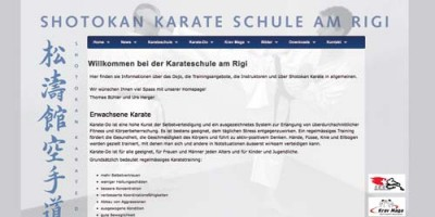 Shotokan Karate-Schule